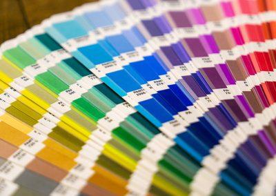 Choix des couleurs pour la construction d'une identité visuelle