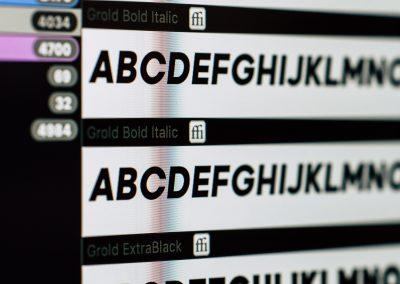 Choix des typographies pour la construction d'une identité visuelle