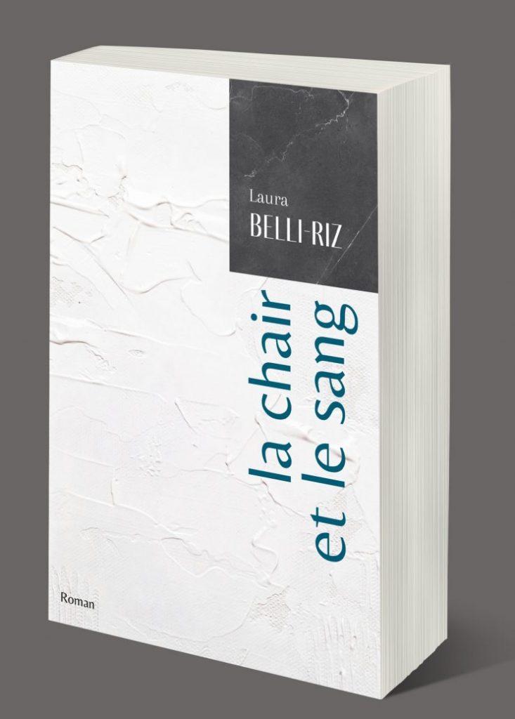 Création d'un principe de couverture pour les futurs ouvrages de l'auteure Laura Belli-Riz