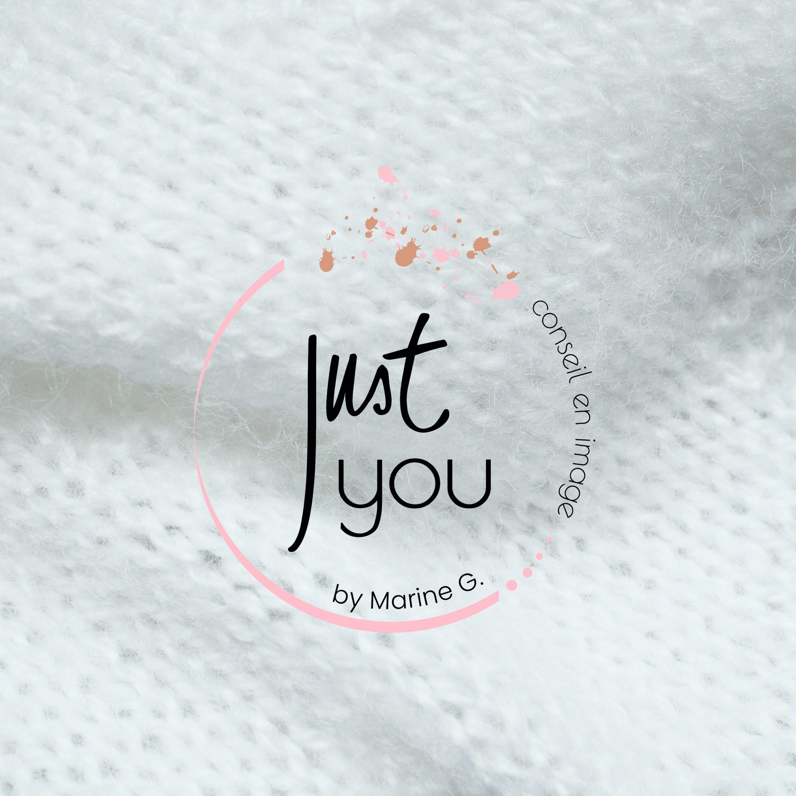 Le studio graphique citron sorbet réalise le logo de Just You by Marine G.